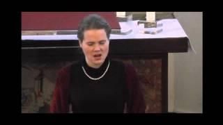 """""""Die junge Nonne"""" von Franz Schubert - Maria Norina Hoffmann - live"""
