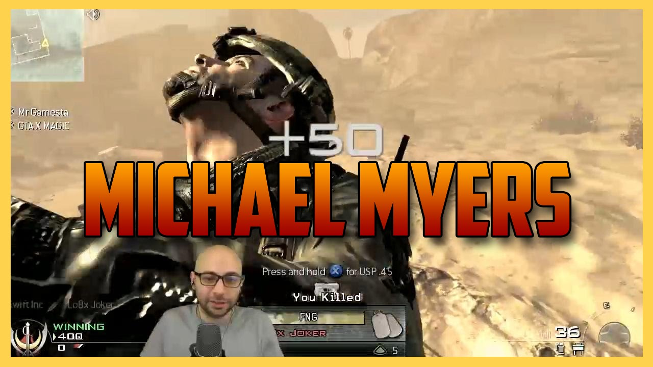 how to set up michael myers on bo3