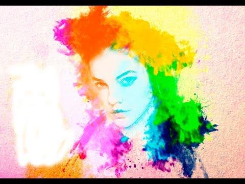 Watter Collor #1 - Photoshop CC