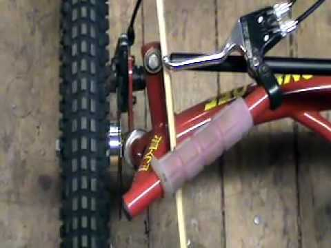 Steering Geometry - One-Off Handcycle