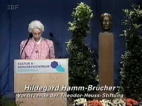 Jürgen Habermas - Theodor Heuss Preis 1999