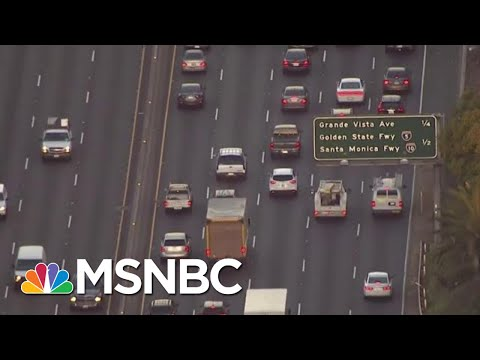 Why Trump Is Barring California From Setting Own Vehicle Emission Standards | Velshi & Ruhle | MSNBC