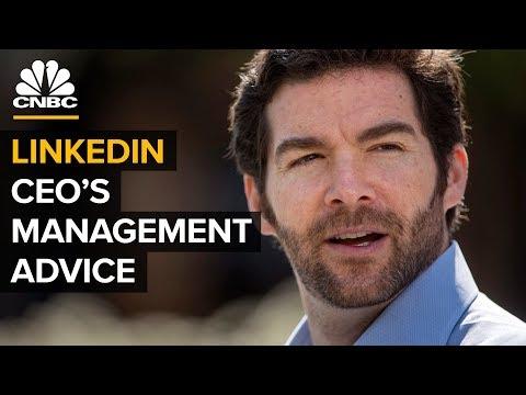 LinkedIn CEO Shares Advice On Leadership, Hiring And Firing