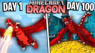 Download I Survived 100 Days as a DRAGON in Minecraft