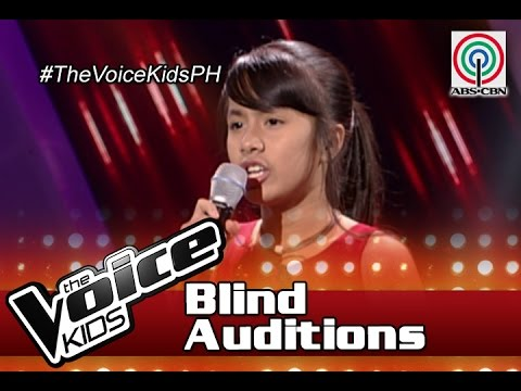 """The Voice Kids Philippines Blind Auditions 2016: """"Starting Over Again"""" by Angel"""