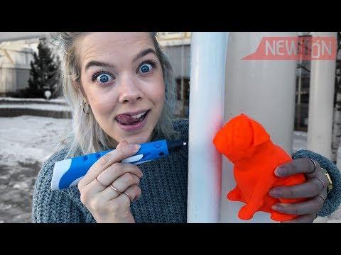LIVE: 3D-penn vs 3D-printer (med giveaway)