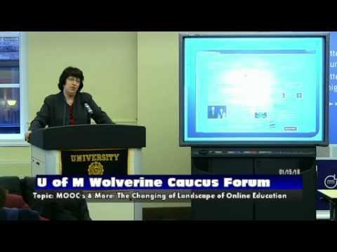 University of Michigan: Wolverine Caucus 1-15-13