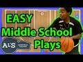Top 5 Easy Middle School Basketball Plays
