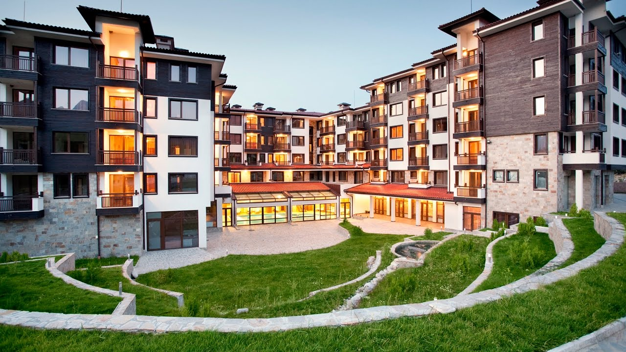 apartment with 2 bedrooms in luxury st. george ski & spa, bansko