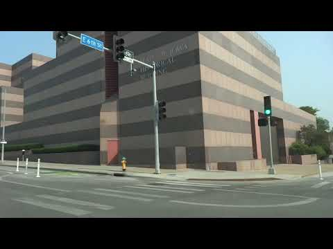 Des Moines Iowa Driving & State Capitol 8/12/18