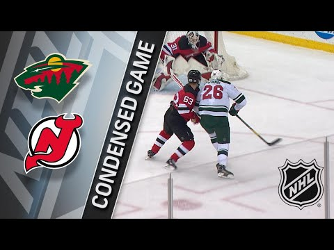 02/22/18 Condensed Game: Wild @ Devils