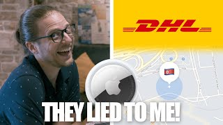 """DHL """"Lost"""" My AirTag Parcel (but I knew where it was)"""