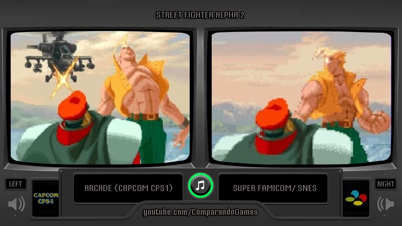 street fighter alpha 2 snes cover