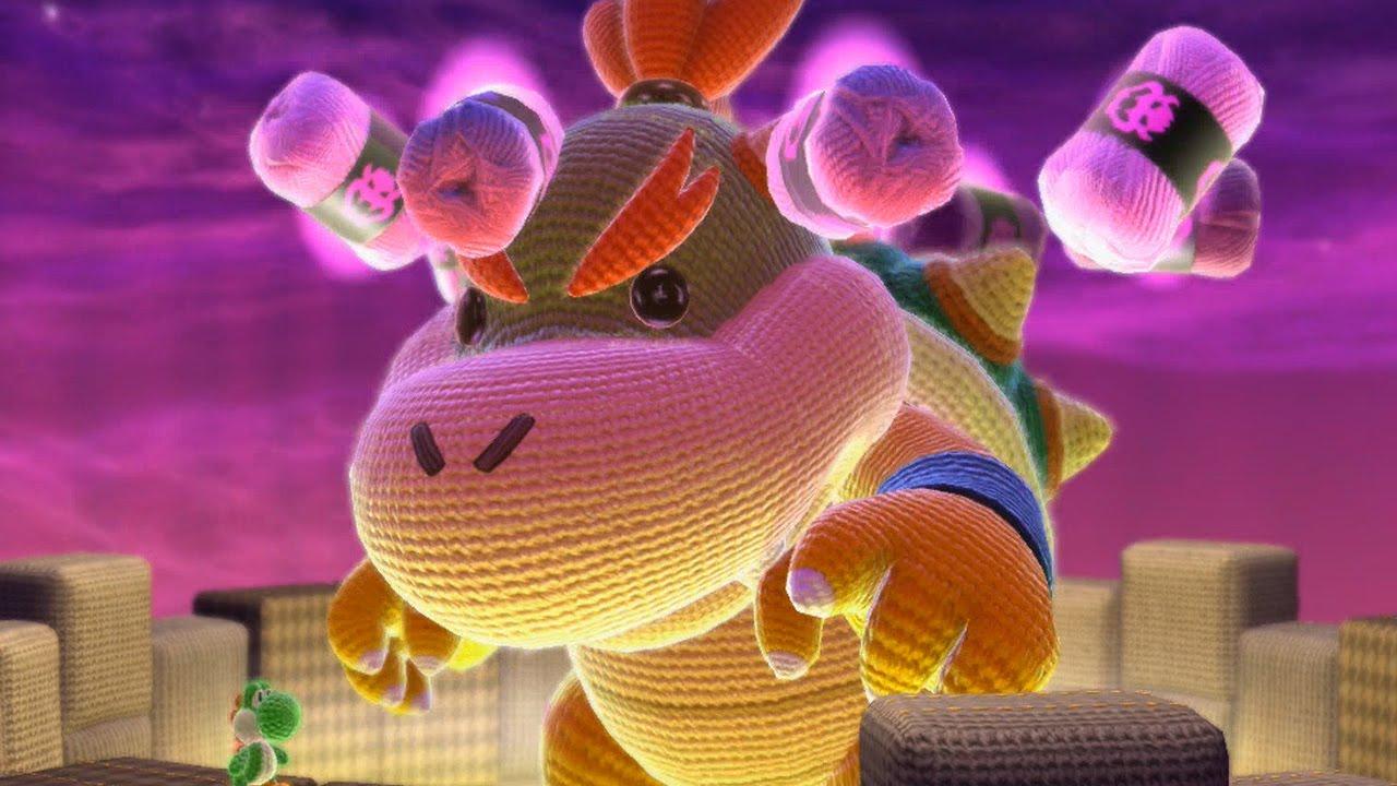 Yoshis Woolly World - All Bosses + Final Boss / Ending ...