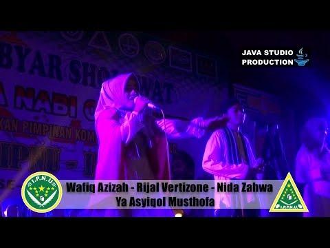 Ya Asyiqal Musthofa - Wafiq Azizah - Rijal - Nida - Gebyar Sholawat IPNU-IPPNU Gentasari Kroya 2017
