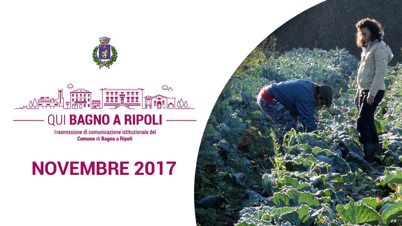 QUI BAGNO A RIPOLI - Novembre 2017 - YouTube