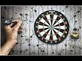 DIY- How To Make Dart Game At Home | Dart Game Rules
