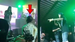 Ybn Nahmir Gets Pressed By Rapper Luh Soldier At His Show