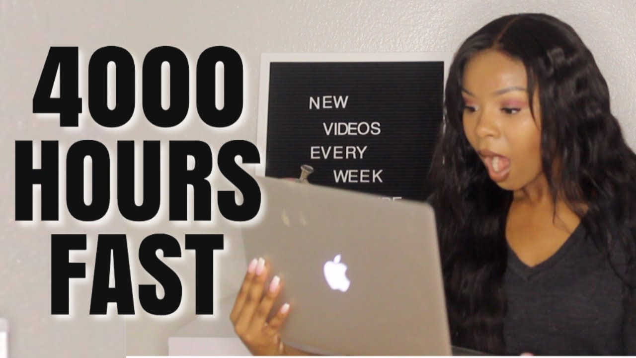 HOW TO GET MONETIZED ON YOUTUBE - 4000 WATCH HOURS FAST!