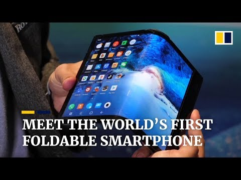 Meet the world's first foldable smartphone