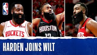 Harden Joins Wilt Chamberlain In AMAZING 11-Game Stretch