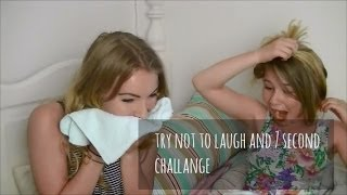 7 second plus try not to laugh challange ft.Sophier♥ Thumbnail