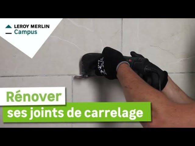 Comment Renover Ses Joints De Carrelage Leroy Merlin Youtube
