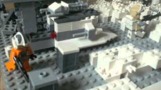 Lego Star Wars: Battle Of Rhen Var Moc (original Trilogy) For The Contest Of Finashare