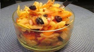 How To Make Carrot Apple Salad - Gulerod æble-salat