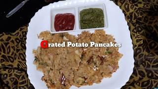 Grated Potato pancake,spicy Potato - Breakfast/after-school …