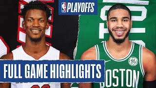 HEAT at CELTICS | FULL GAME HIGHLIGHTS | September 25, 2020