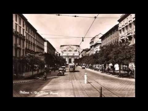 Stazione di Milano Centrale - ieri e oggi