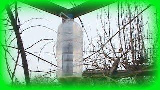 Кормушка для птиц своими руками из пластиковых бутылок