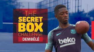 THE SECRET BOX CHALLENGE | Ousmane Dembélé