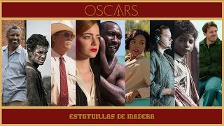 🎬 Top 9 Nominadas a MEJOR PELÍCULA  #Oscars2017 [Estatuillas de Madera]