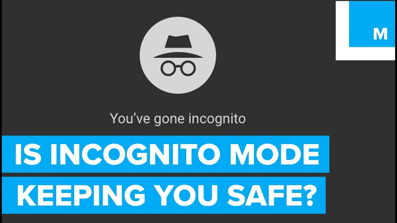 Incognito mode meaning