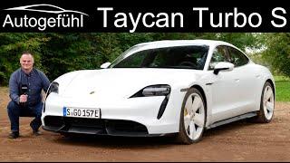 Porsche Taycan Turbo S FULL REVIEW driving the e-Porsche - Autogefühl