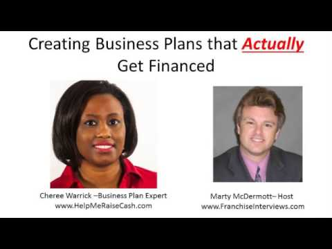 Franchise Radio Interviews Business Plan Expert Cheree Warrick