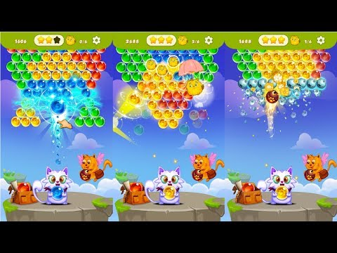 Bubble Shooter: Free Cat Pop Game Android Gameplay