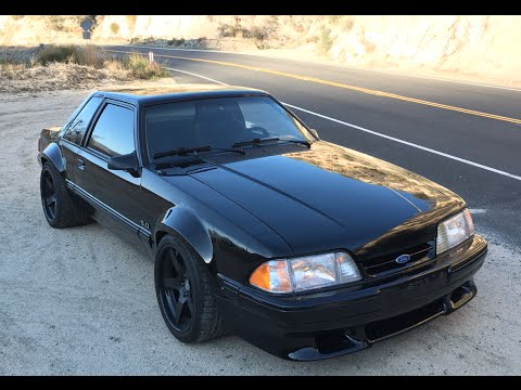 Project Fox Mustang – Final Sorting Canyon Test