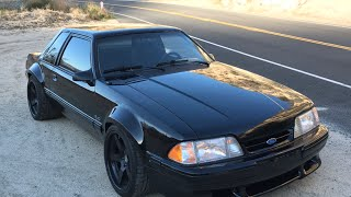 Project Fox Mustang - Final Sorting Canyon Test