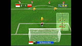 Sega Worldwide Soccer 98 Club Editio Gameplay