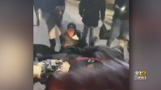 'I Am Appalled'   Officials Outraged After Baltimore Police Sergeant Kicked By Group Of People