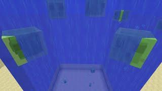 Slime Lava Lamp in Minecraft