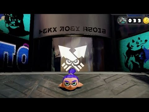 Inkopolis Out of Bounds Glitch 2