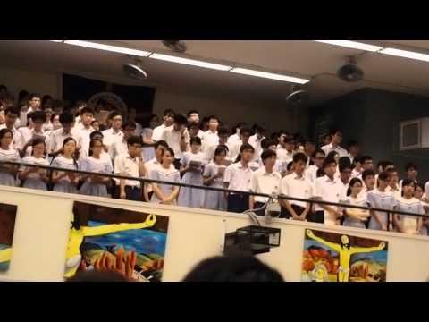 SHK Lam Woo Memorial Secondary School Rhyme.AVI