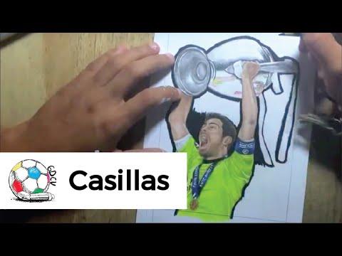 Dibujo De Iker Casillas Para Colorear Dibujo Con El