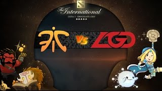 [ Dota2 ] Fnatic vs LGD - The International 2015 : Group Stage - Thai Caster