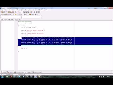 c dersleri s01b11  ekstralar  switch case yapısı