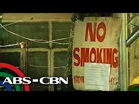 TV Patrol: Nationwide smoking ban, nakatakdang lagdaan ni Duterte
